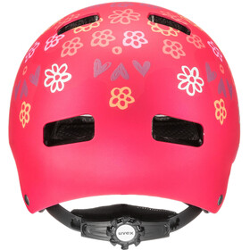 UVEX Kid 3 CC Helm Kinder dark red